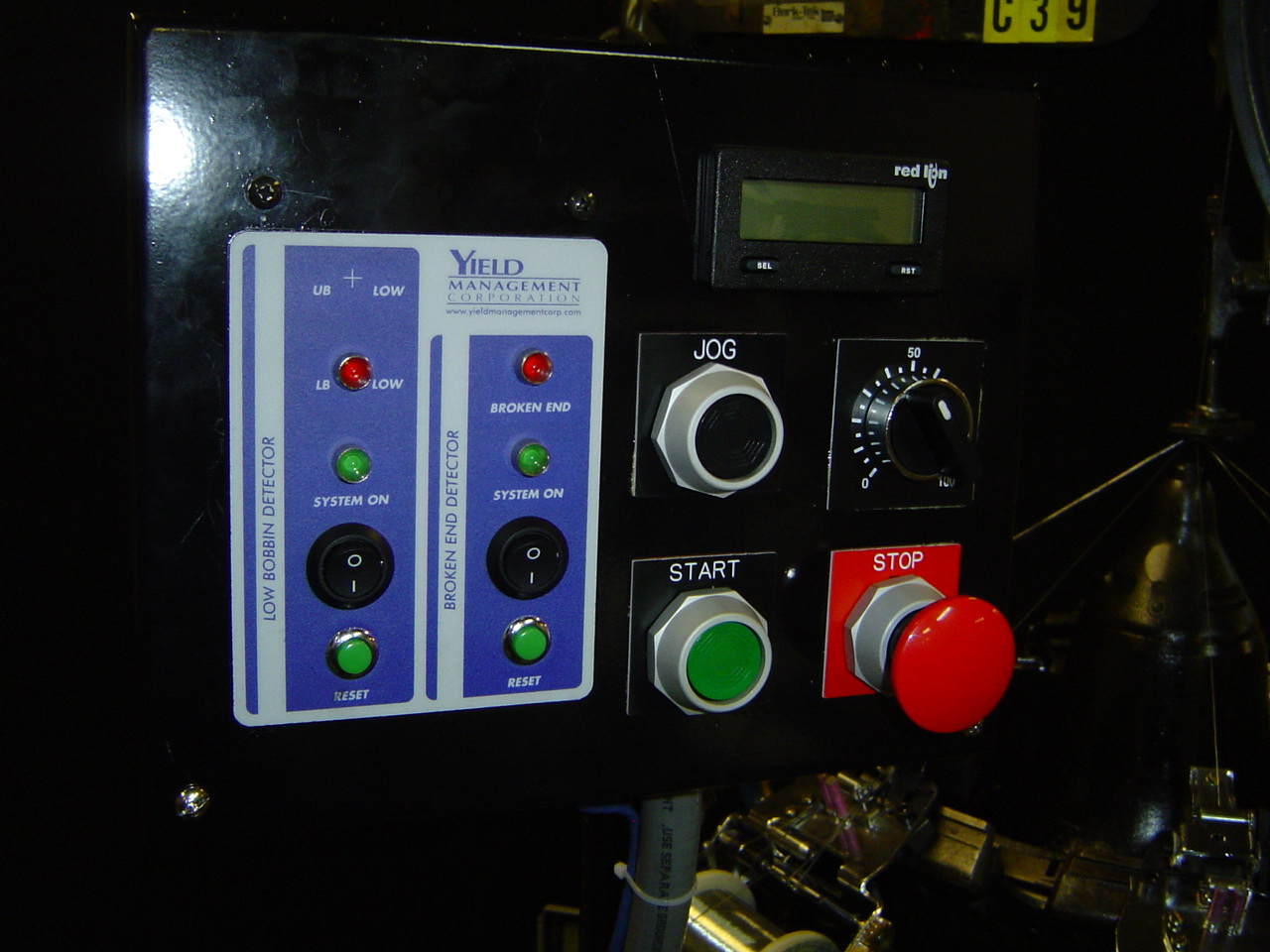 Wardwell Serving Machine Conversion Operator Control Panel