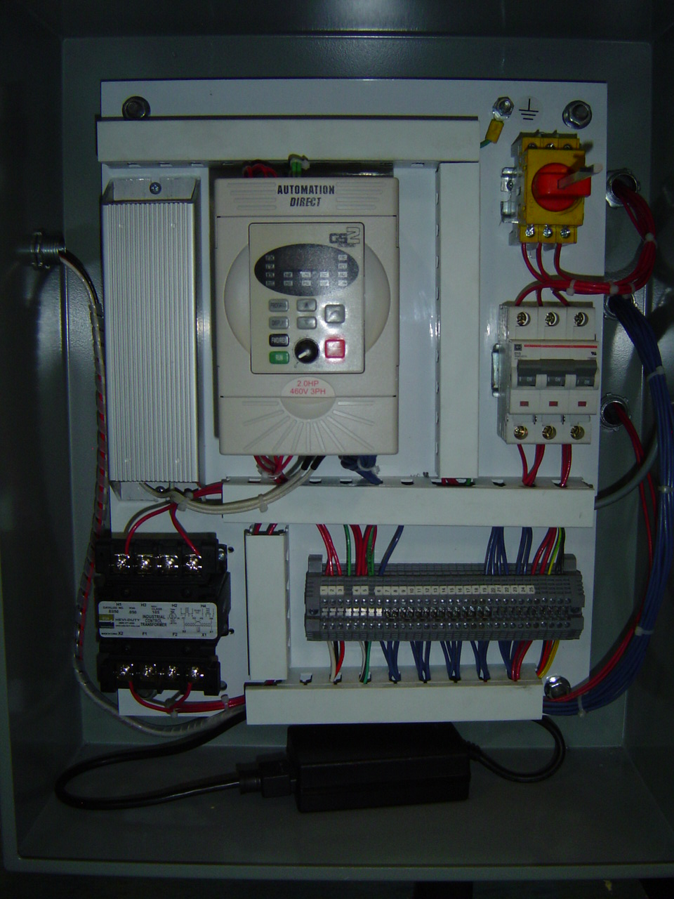 Wardwell Serving Machine Conversion VFD Panel